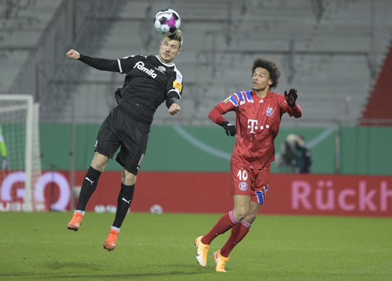 'Shocked' Bayern knocked out of German Cup by second tier Kiel