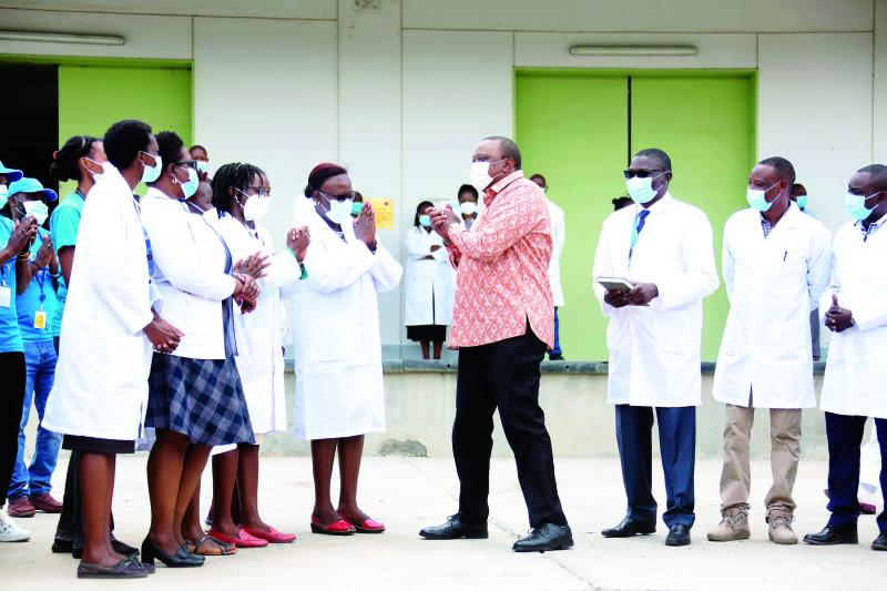 Shot in the arm for counties as Uhuru flags off vaccines