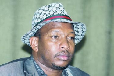 Kenya Senator Sonko seeks court order to remove bumps