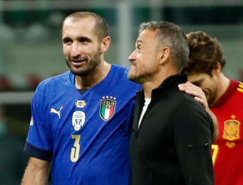 Spain end Italy's long unbeaten run to reach Nations League final