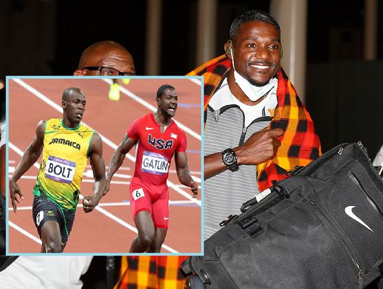 Sprinter Justin Gatlin arrives in the country ahead of Kip Keino Classic slated for Saturday