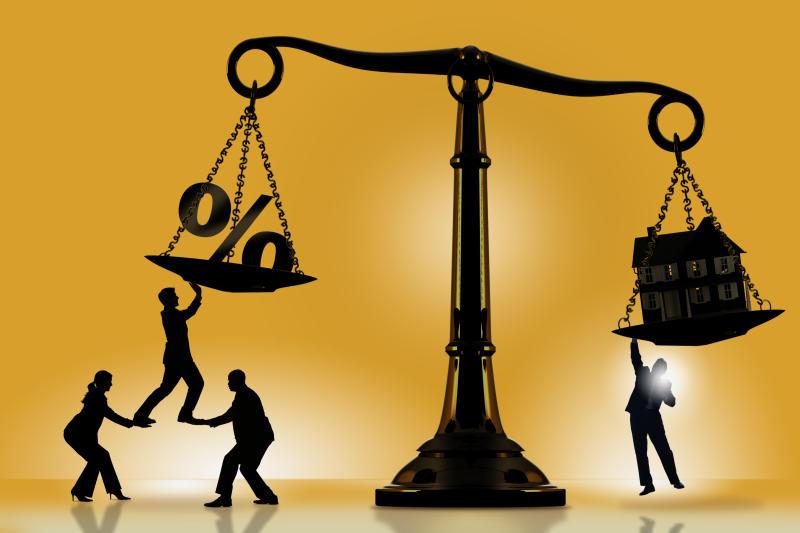 Balancing mortgage rate