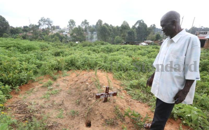 The dead and the living compete for space in Kakamega