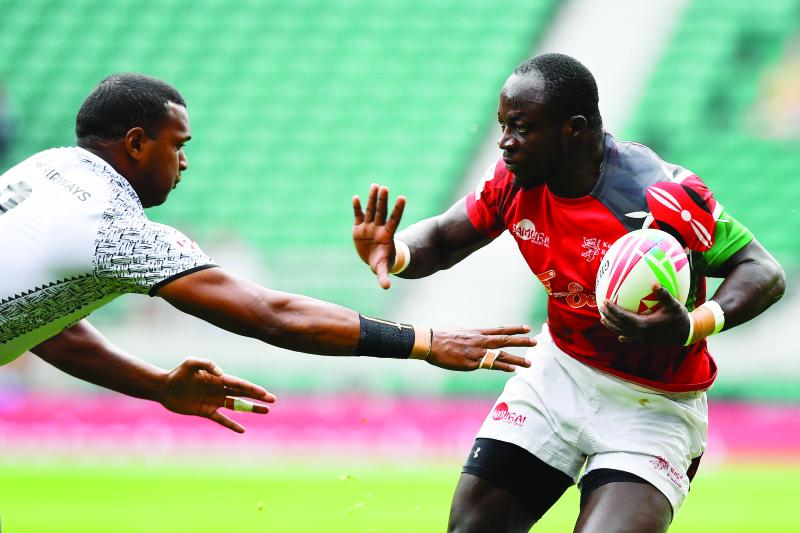 The face of Shujaa's jig at World Rugby Sevens legs