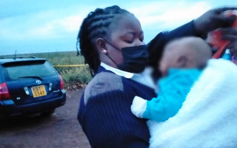 Thika residents lynch man who killed his wife, left four-month-old baby in a car