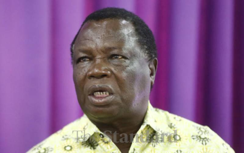Those opposing postponement of polls are missing the point - Atwoli
