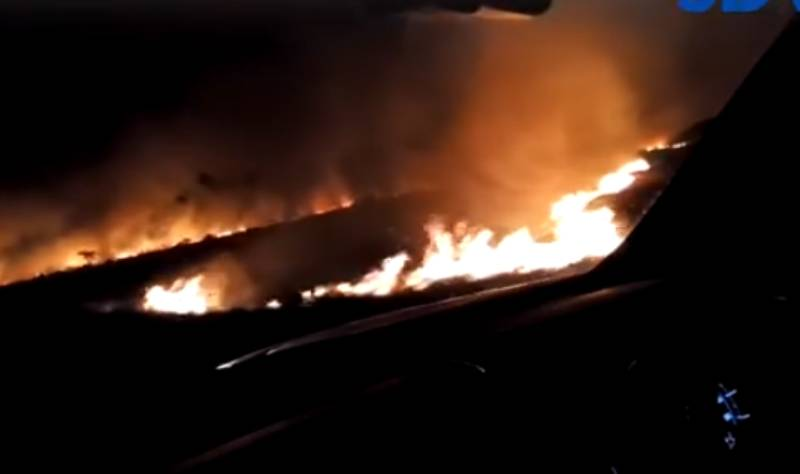 Three sets of fire break out at Tsavo