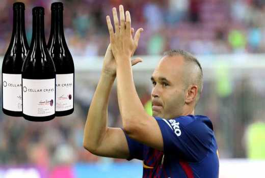 Chinese club to 'lure Andres Iniesta with bottles of wine'