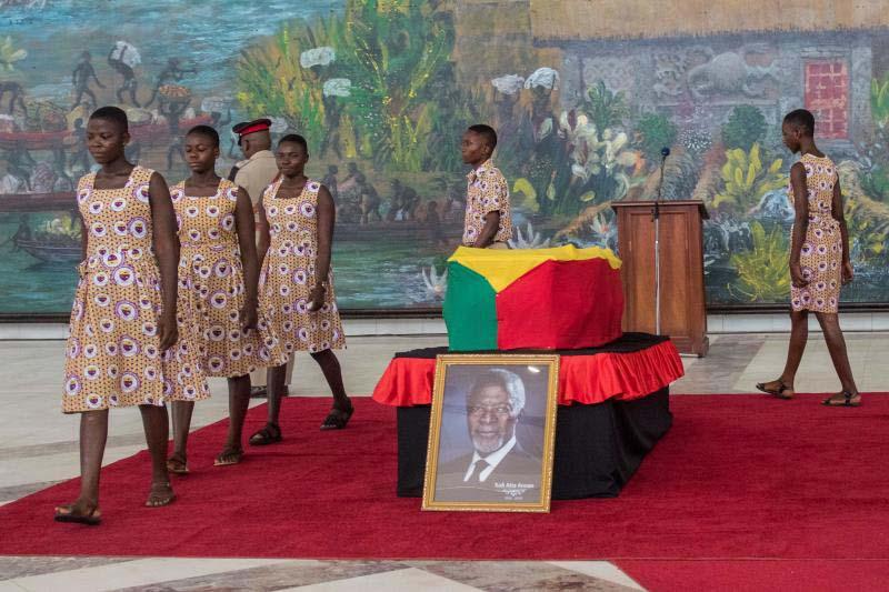 Ghanaians demand to see Kofi Annan's body