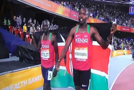 Gold at last! Kenya's Kinyamal wins 800m in Commonwealth games