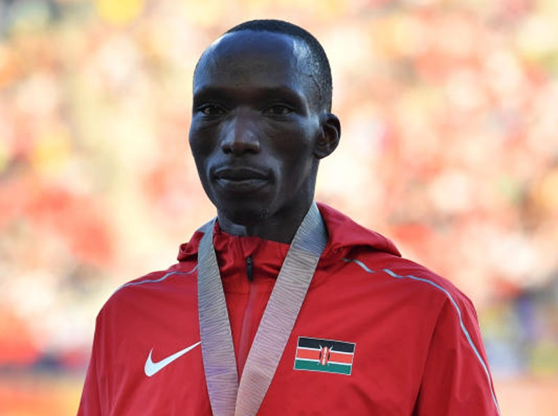 Highs and lows of World 1,500m silver medalist Cheruiyot