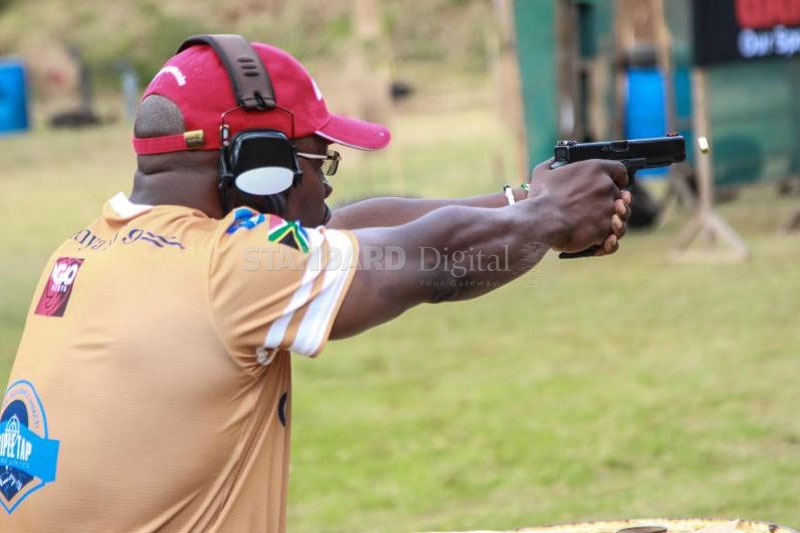 IDPA Expert shooter Onyango set for MagTech Cup in Hungary