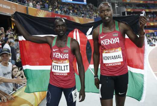 Kenya finally strike first gold