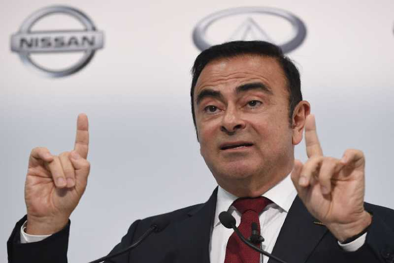 Nissan sacks Ghosn as chairman