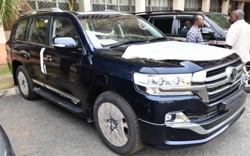 Nominee grilled on Nyong'o's Sh19m car
