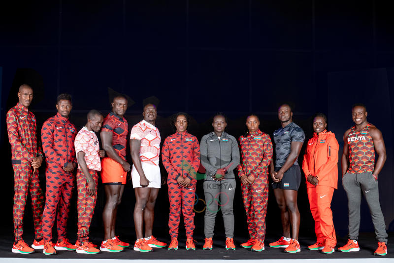 Thursday notebook: Team Kenya outfit is popular in Tokyo