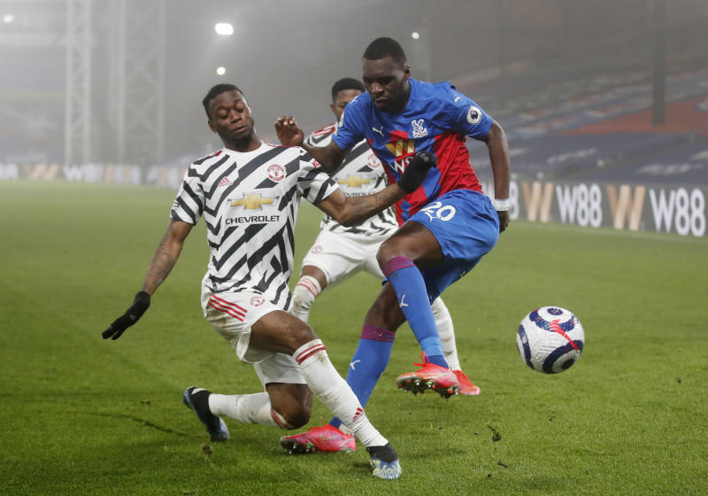 Toothless Man United held to goalless draw at Palace