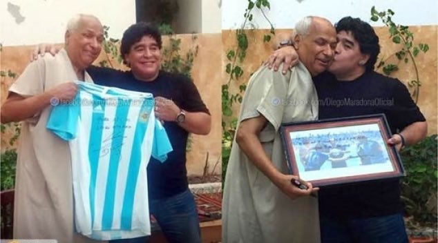Tunisian referee who missed 'Hand of God' hails 'genius' Maradona