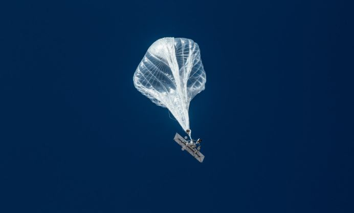 Two loon balloons arrive in the country