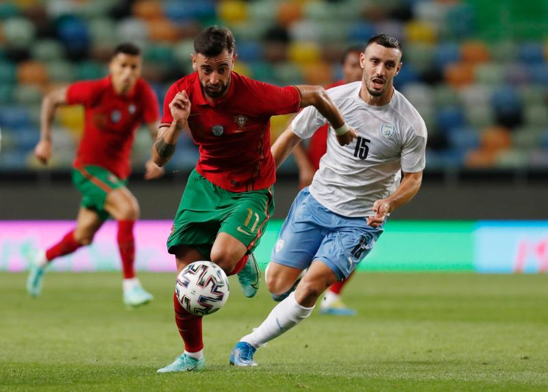 Fernandes double fires Portugal to win over Israel : The standard Sports