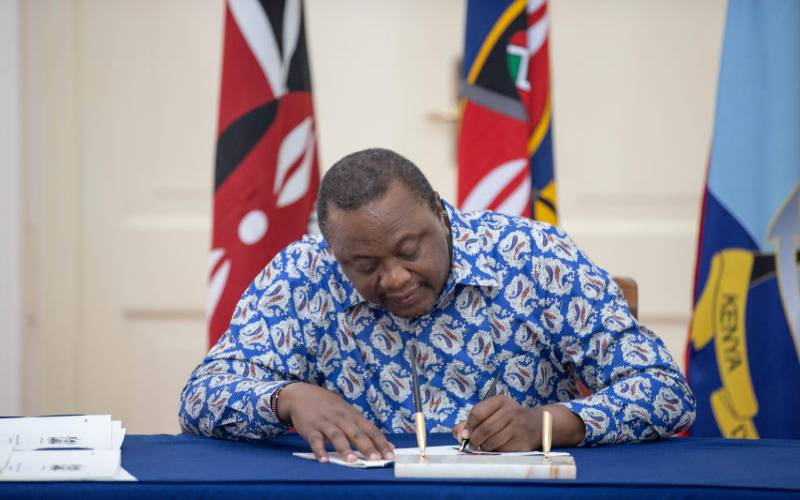 Uhuru dashes hopes on tax reliefs to cushion five counties