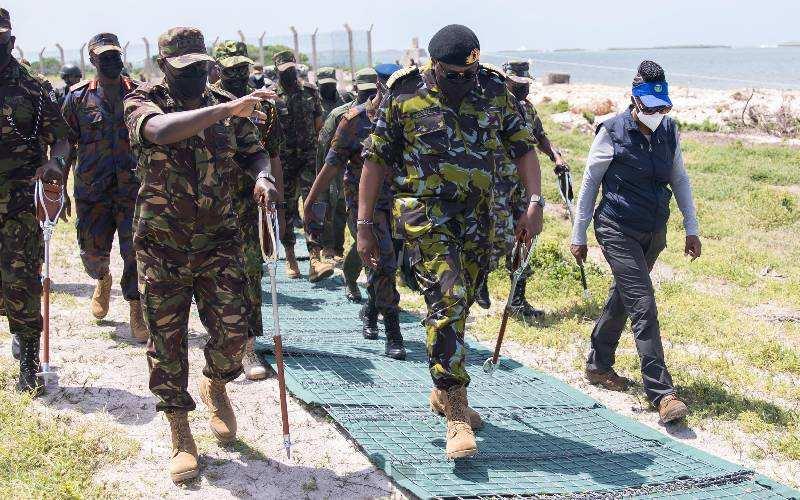Uhuru Kenyatta: Kenya will not cede an inch of its soil to anyone