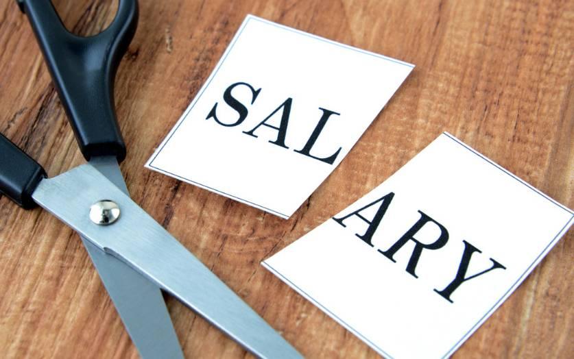 Unilateral salary cut has no basis in law
