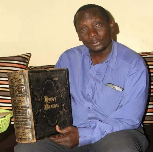 US president, matatu driver and their love for antique Bible