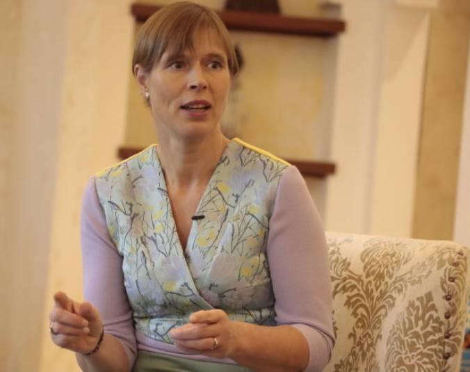 Video story: Estonia President recalls life under Soviet occupation