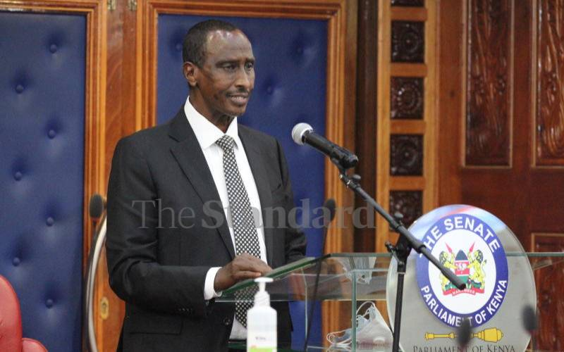 Wajir Governor Mohamed Abdi accused of squandering Covid-19 funds