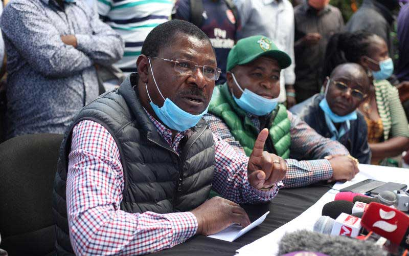 Wetang'ula wins first round in battle for Ford Kenya leadership