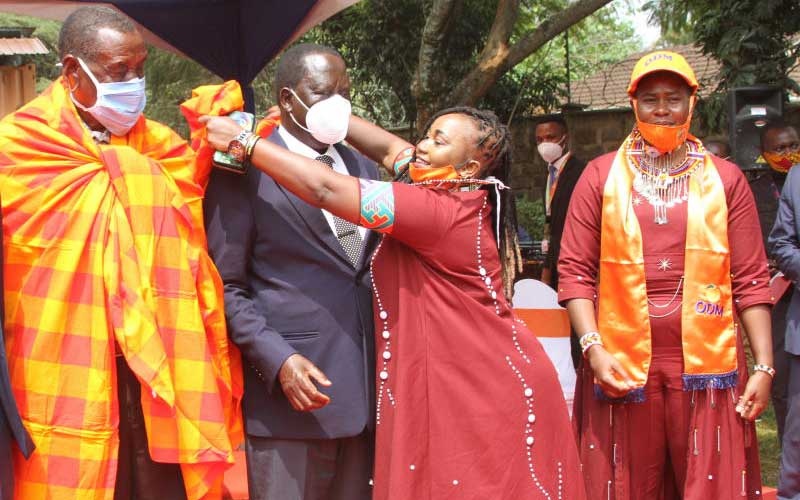 You are deep state and system, Raila tells Ruto