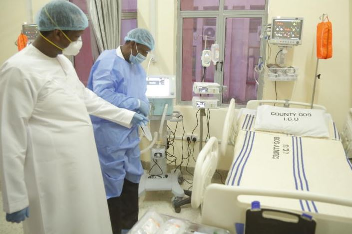 You have to fork Sh650,000 deposit for ICU bed in Nairobi