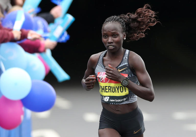 Young, daring face off with experienced stars in London Marathon