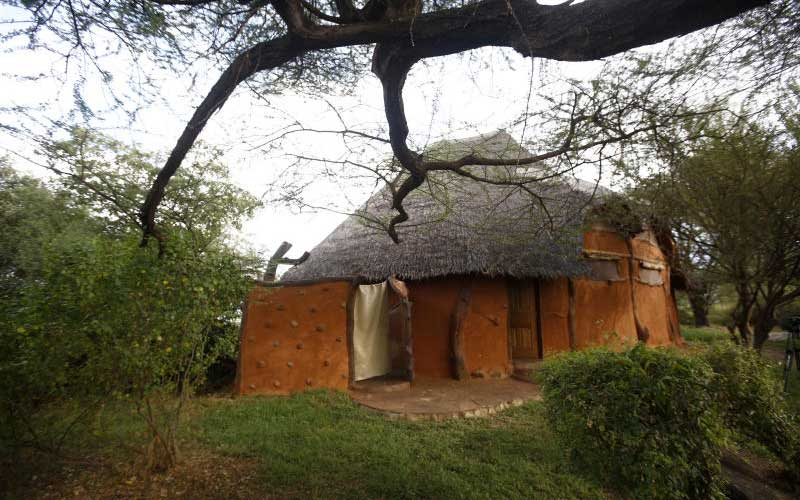 Tumbili Cliff Lodge at shores of Lake Baringo. [Kipsang Joseph]