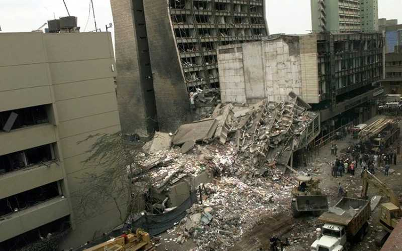 337 families sue Kenyan Govt. for compensation over 1998 US Embassy bombing