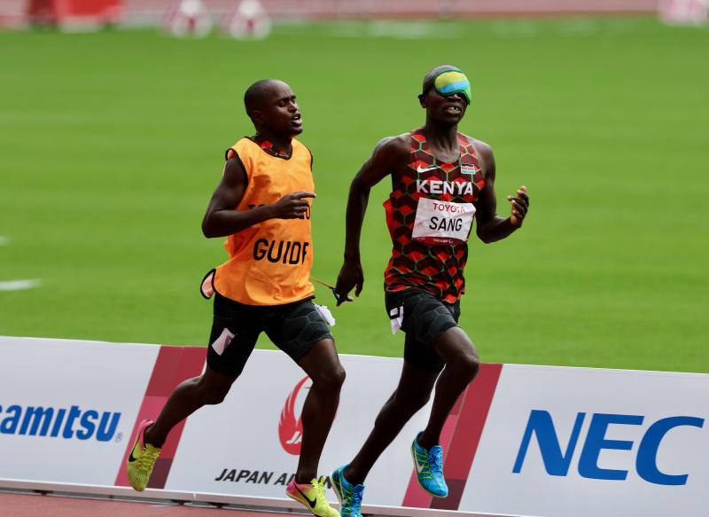 Kenya end Para Games on low note as Sang finishes sixth in 1500m T11