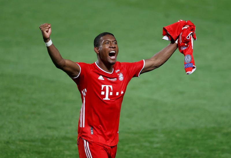 Alaba announces he will leave Bayern Munich at the end of the season