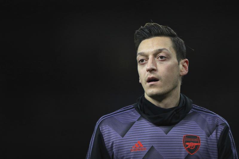 Arteta opens door for Ozil return for Arsenal at Aston Villa