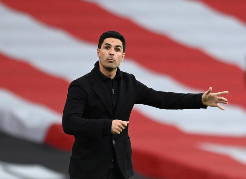 Arteta says he expects changes at Arsenal next season