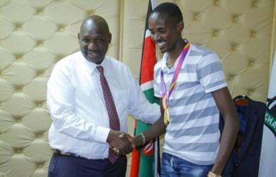 Athletics: 1,500m champion Manangoi and Governor Tunai plan to establish camp in Narok