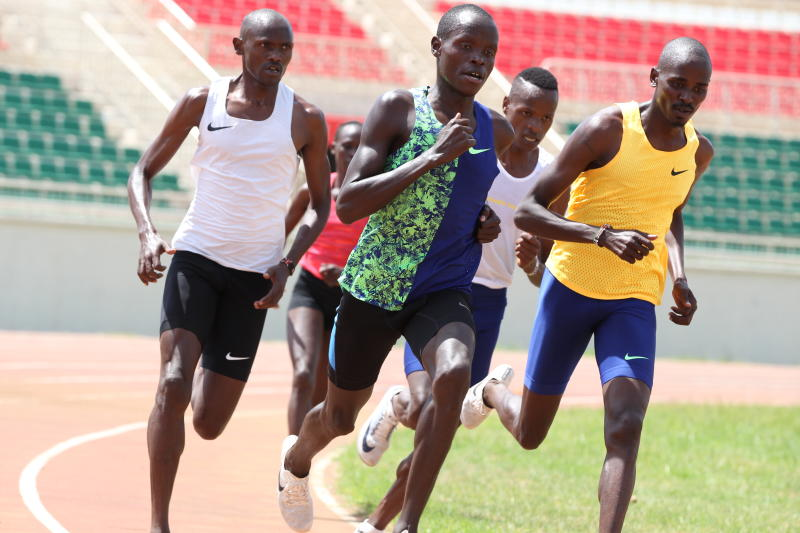 Athletics:  Stars dust spikes in readiness for epic race on June 11