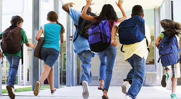 Back to school: Don't be fooled, these children enjoyed the long holiday