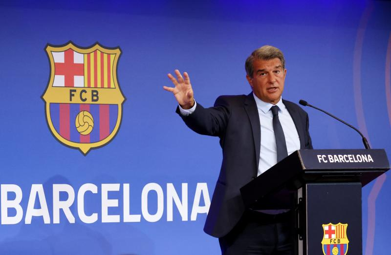 Barcelona can escape financial hole in 18 months, president says