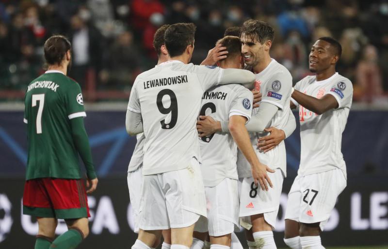 Bayern edge past Lokomotiv 2-1 to stretch winning run