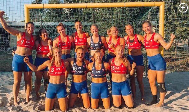 Beach Handball-Norway fined for wearing shorts instead of bikini bottoms