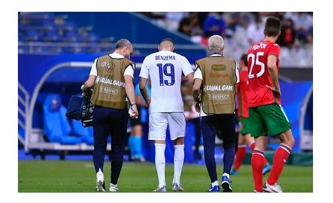 Benzema suffers possible knee injury against Bulgaria