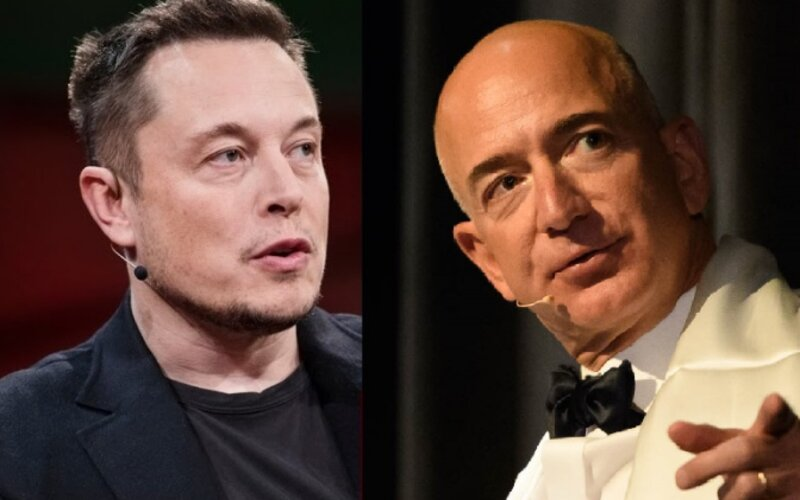 Bezos, Musk in all-out battle over space contract