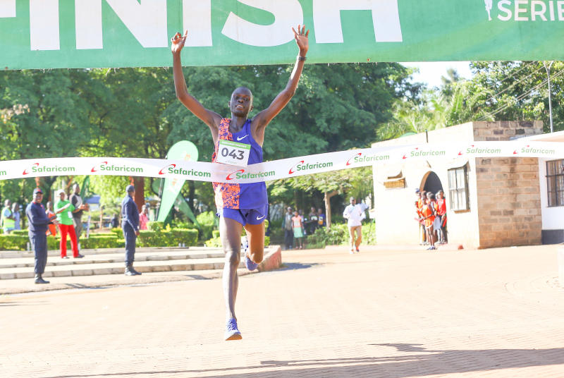 Bor and Jelagat triumph during Nandi road race