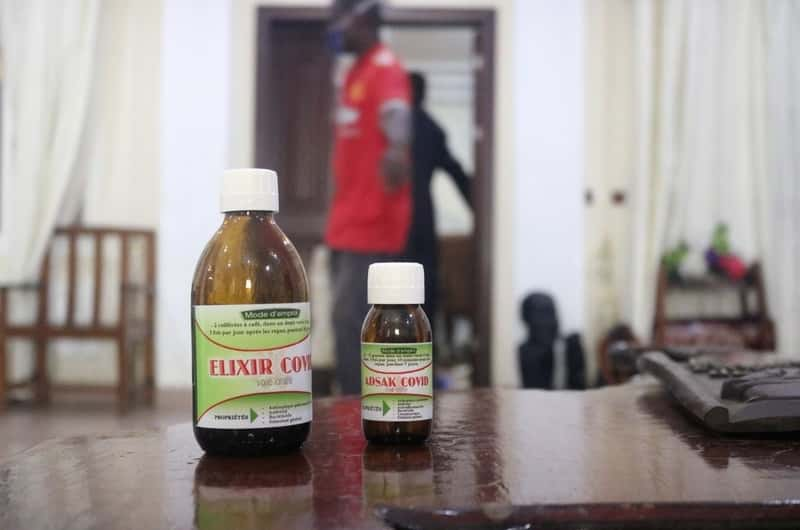Cameroon archbishop says treating COVID-19 with plant-based remedy